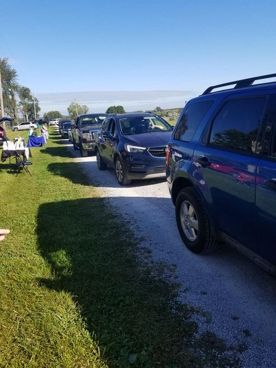 Our first drive-thru Community Baby Shower