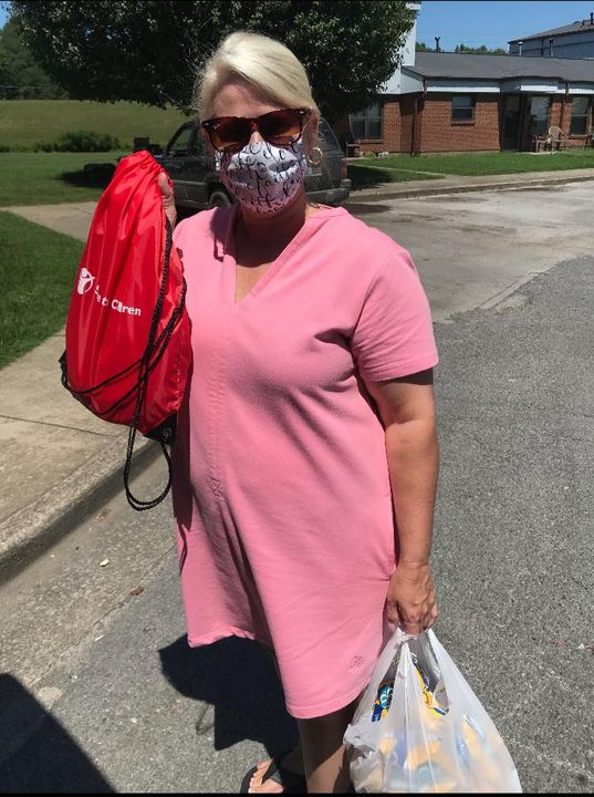 Knox County FRC, partnering with Save the Children, delivering free milk from Borden's, Healthy…