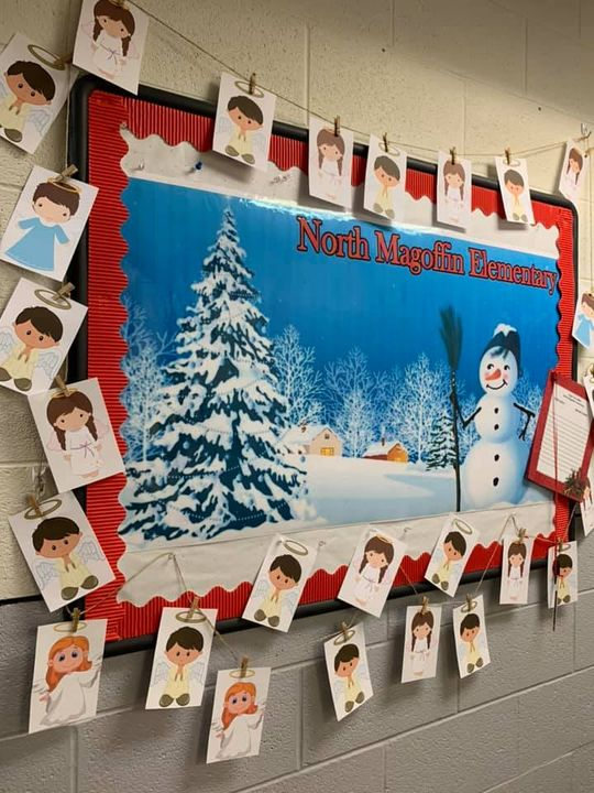 North Magoffin Family Resource Center Angel Tree. Pick an Angel from our tree and…