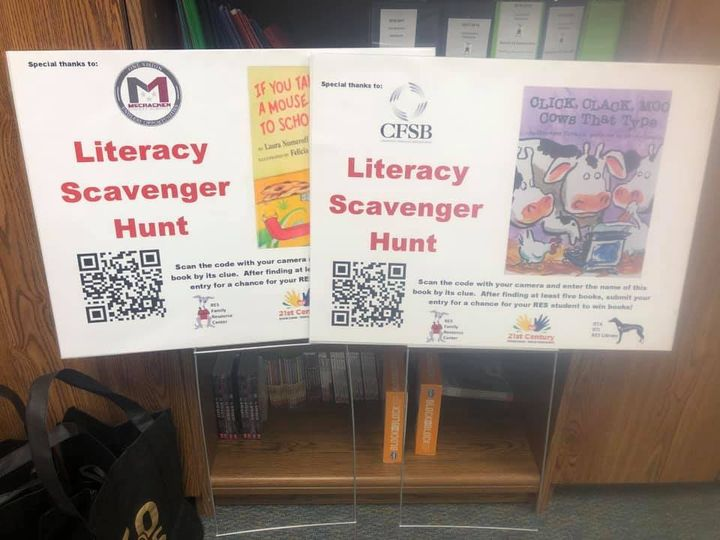 Our Family Literacy Scavenger Hunt was so much fun! We partnered with 10 local…