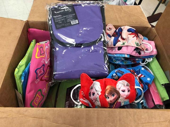 Thank you Olive Branch Platters for the donation of school supplies, lunch totes and…